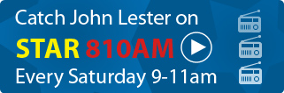 John Lester on the Radio